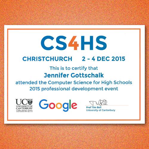 CS4HS – 2015