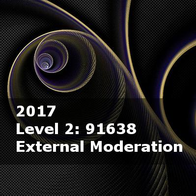 2017 External Moderation