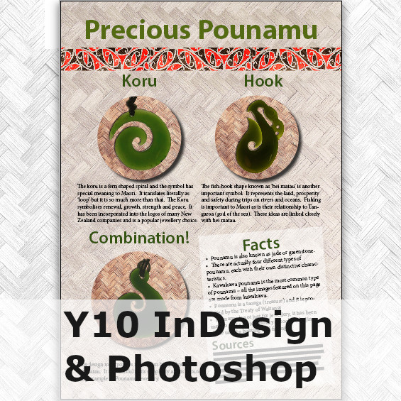 Y10 InDesign & Photoshop