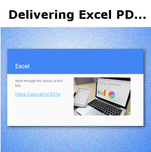 Excel PD: Presenter