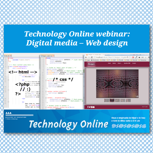 2016/10/19: Web Design Webinar (presented)