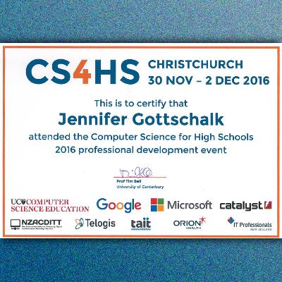 2016 CS4HS