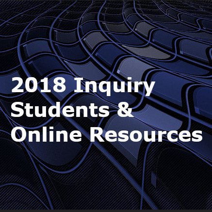 2018 Inquiry: Students & Online Resources