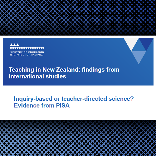 Professional Reading: Inquiry-based or teacher-directed science?