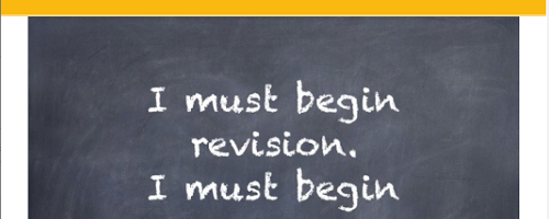 Professional Reading: Revision Strategies (T3W1)