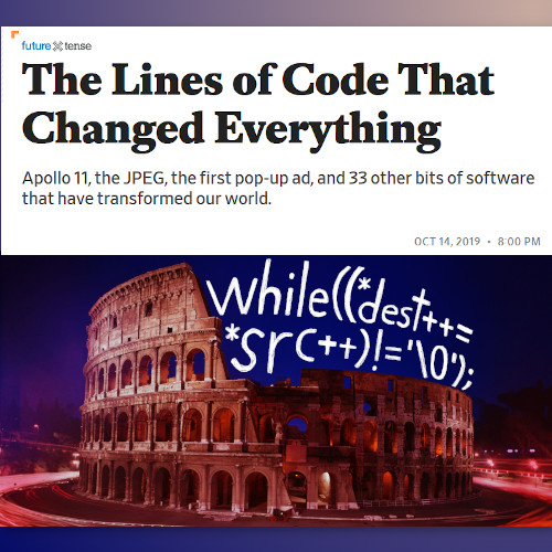 The Lines of Code That Changed Everything